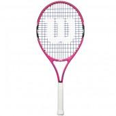 Raquete de Tênis Wilson Burn 25 - Rosa