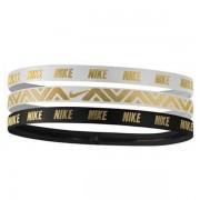 Faixa de Cabelo Nike - Branco e Preto