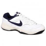 c3f1ebebf2f ... Tênis Nike Court Lite - Branco e Marinho
