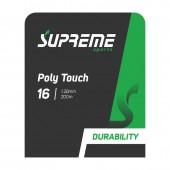 Set de Corda Supreme Poly Touch 16