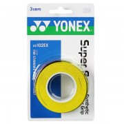 Overgrip Yonex Super Grap Amarelo - 3Unid