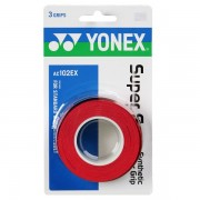 Overgrip Yonex Super Grap Vermelho - 3Unid