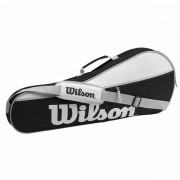 Raqueteira Wilson Advantage Pro - Preta e Branca