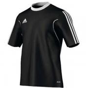 Camiseta Adidas Squadra 13 - Preto e branco
