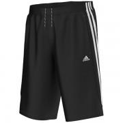 Bermuda Adidas Long Chelsea 3S - Preto/Branco