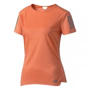 Camiseta Adidas Feminina Response - Laranja