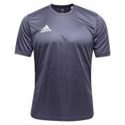 Camiseta Adidas Infantil Core 15 - Cinza
