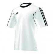 Camiseta Adidas Squadra 13 - Branco e preto