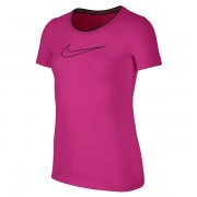 Camiseta Nike Infantil Feminina Top Pro - Roxo e Azul