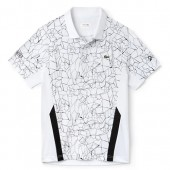 Camisa Polo Lacoste Novak Djokovic DH9466 - Branca