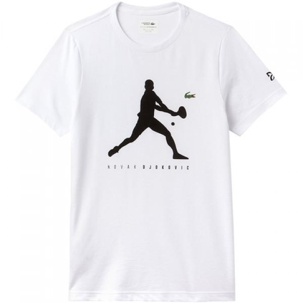 Camiseta Lacoste Novak Djokovic - Branca - Oficina do Tenista ac1bc8023d