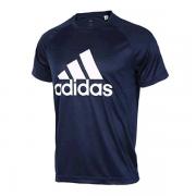 Camiseta Adidas MC D2M - Marinho