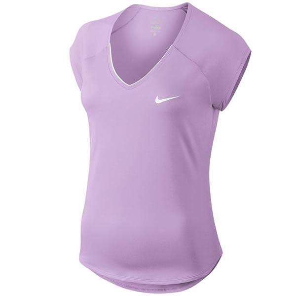 ef73b34e7d Camiseta Nike Feminina Pure - Lilás - Oficina do Tenista