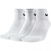 Pack Meia Nike Cano Medio Quarter Branca - 3und