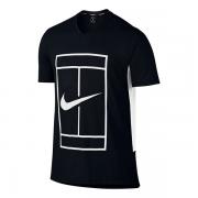 Camiseta Nike Dry Baseline Crew - Preta