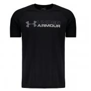 Camiseta Under Armour Wordmark  - Preto