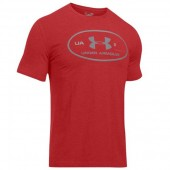Camiseta Under Armour Lockerteg - Vermelho
