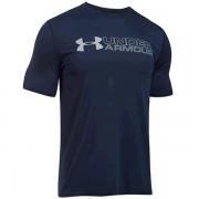 Camiseta Under Armour Wordmark  - Marinho