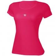Camiseta Wilson Core Infantil Feminino - Rosa Pink