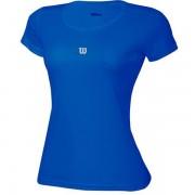 Camiseta Wilson Core Infantil Feminino - Azul